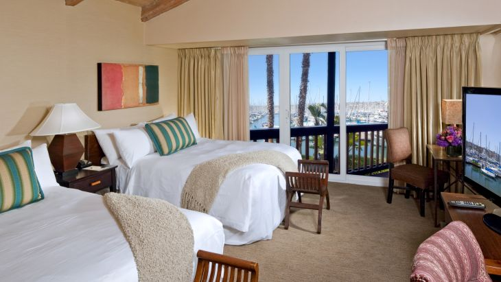 Oversized Marina View Accessible Suite